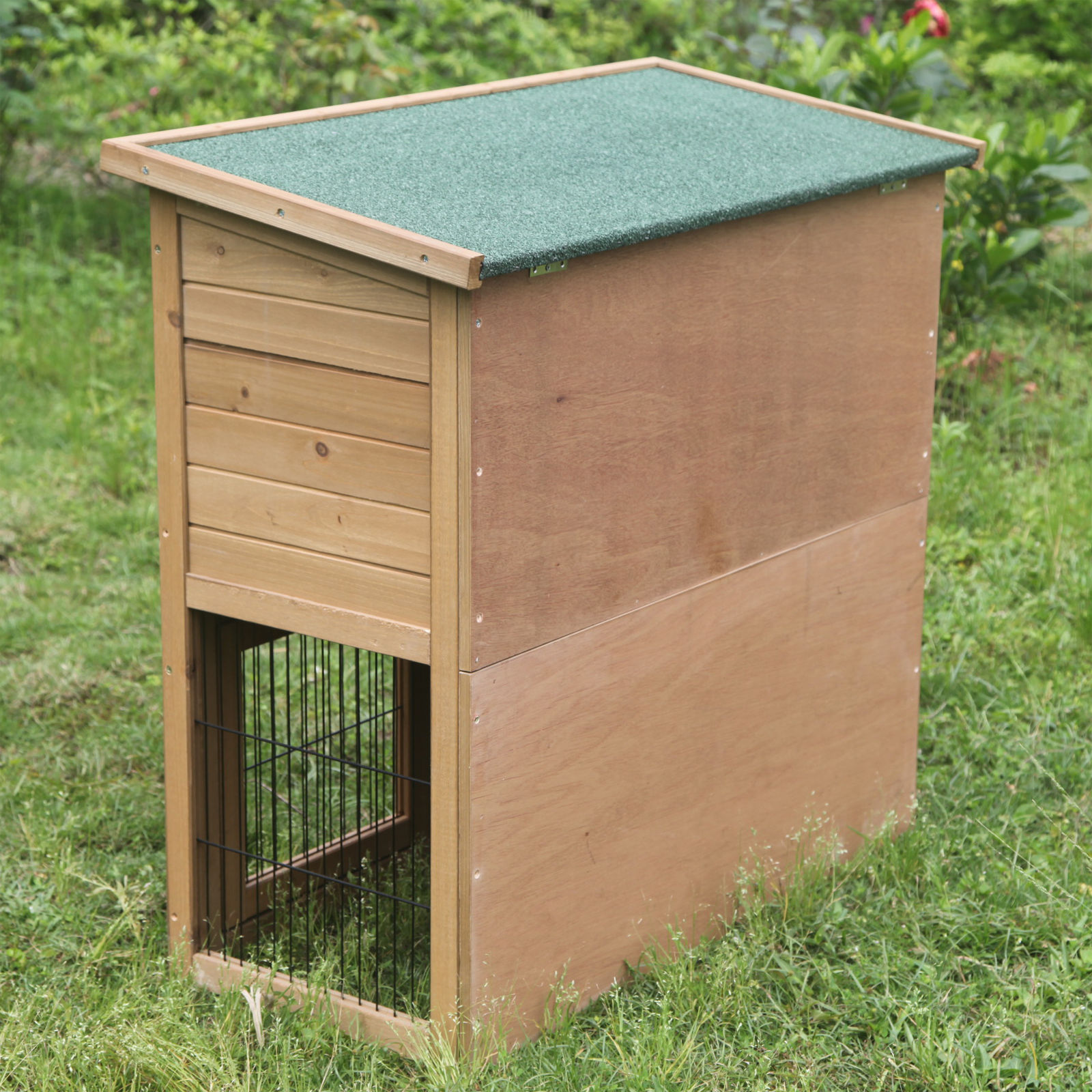 Rabbit hutches and runs guinea pig house ferret cages for Outdoor guinea pig cage