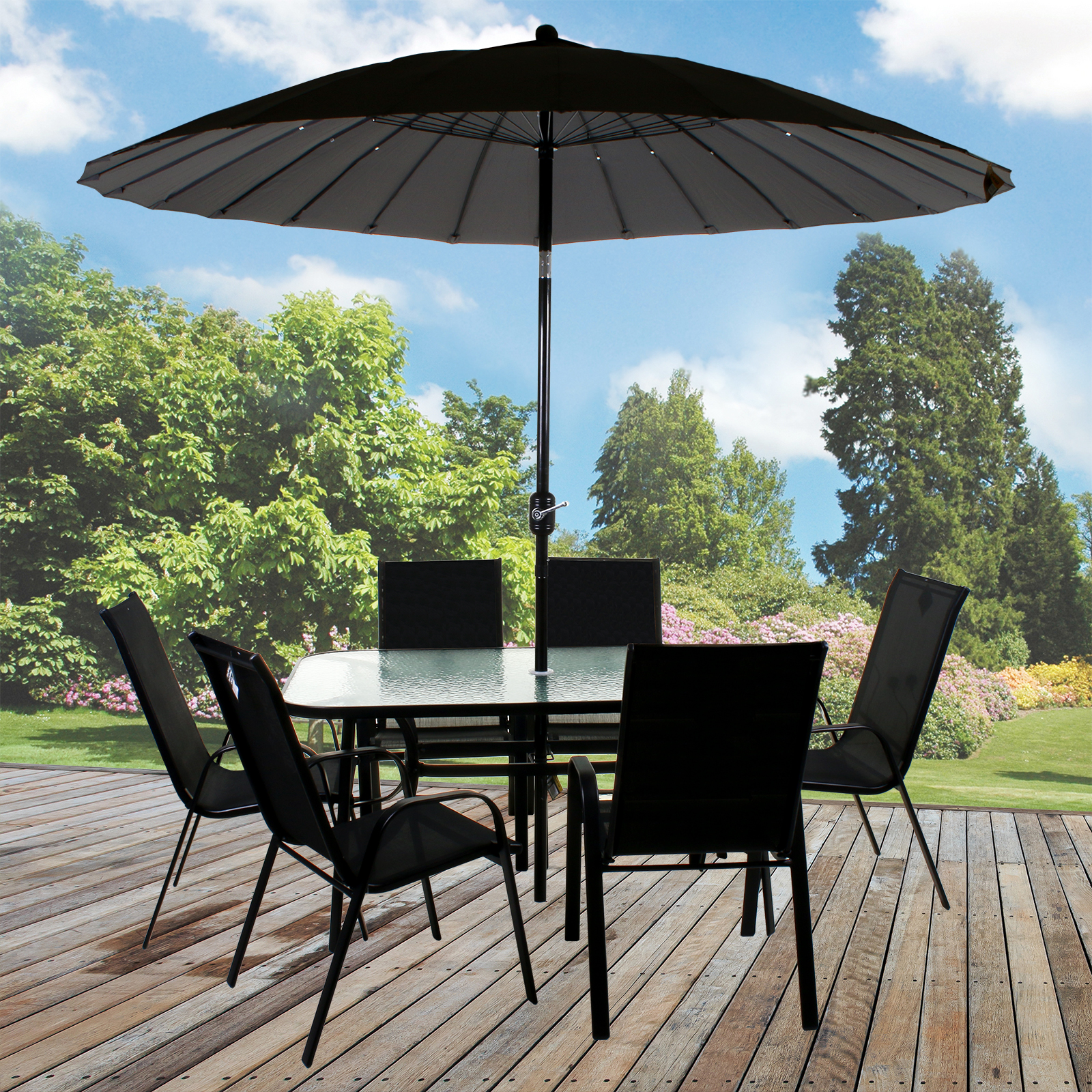 MARKO GLASS TOP TABLES METAL FRAME LEGS GARDEN OUTDOOR INDOOR BISTRO CAFE EBay